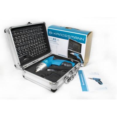 Аккумуляторная электроотвертка KRAISSMANN 600 AS 3.6